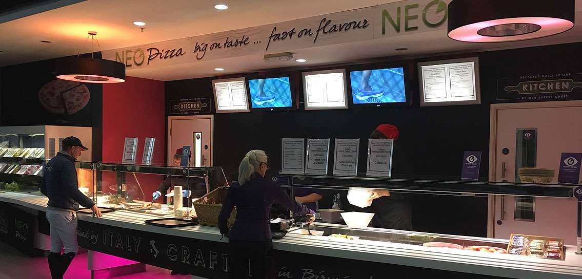Image for NEO PIZZA BRINGS TASTE OF ITALY TO NEC ARENAS