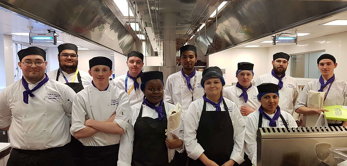 Image for AMADEUS RECRUITS NEW CHEF APPRENTICES