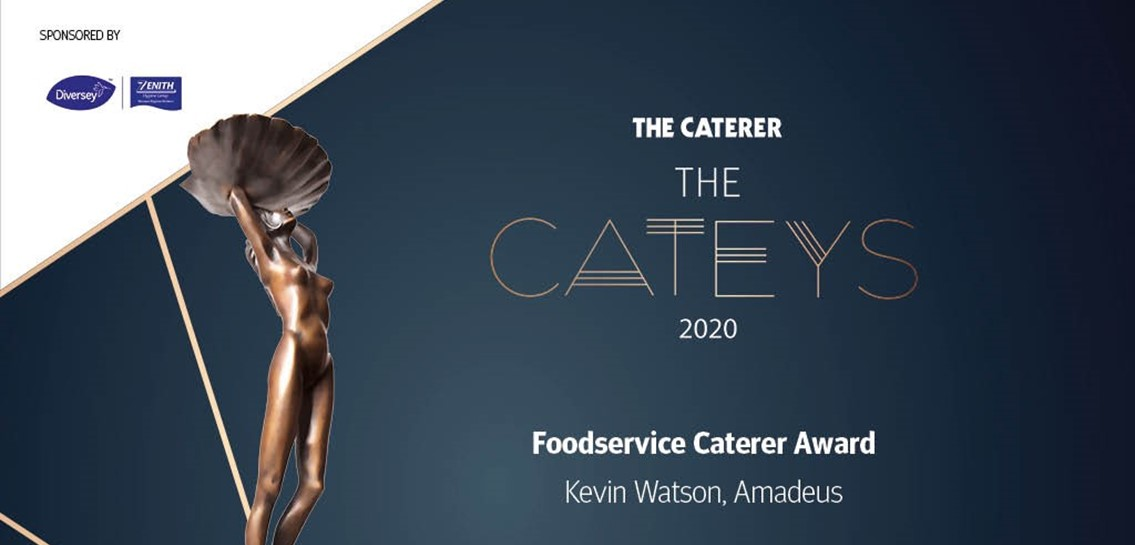 Image for Kevin Wins at the Cateys